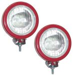 Small Red Headlamp Set